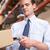 lavoratore · pacchetto · magazzino · ritratto · manuale · uomo - foto d'archivio © monkey_business