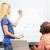 женщины · студент · Дать · ответ · компьютер - Сток-фото © monkey_business