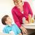 матери · сын · отходов · домой · детей · счастливым - Сток-фото © monkey_business