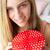 teenage girl holding gift box stock photo © monkey_business