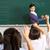 nauczyciel · studentów · chińczyk · szkoły · klasie · kobieta - zdjęcia stock © monkey_business