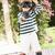 少年 · 演奏 · ドレッシング · アップ · 子 · 笑みを浮かべて - ストックフォト © monkey_business