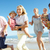multi generation family enjoying beach holiday stock photo © monkey_business