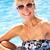 idős · nő · szórakozás · úszómedence · nők · fitnessz - stock fotó © monkey_business
