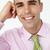 молодые · бизнесмен · голову · Плечи · счастливым · работу - Сток-фото © monkey_business