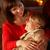 moeder · dochter · ontspannen · sofa · vrouw - stockfoto © monkey_business