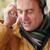 adam · kulaklık · müzik · mutlu - stok fotoğraf © monkey_business