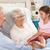 famille · heureuse · supérieurs · femme · hôpital · médecine · soutien - photo stock © monkey_business
