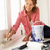 старший · женщину · Живопись · домой · весело · рабочих - Сток-фото © monkey_business