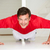 hombre · ejercicio · casa · sesión · moto - foto stock © monkey_business