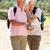 pareja · de · ancianos · lectura · junto · aire · libre · libro · familia - foto stock © monkey_business