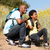 father and son on country hike stock photo © monkey_business