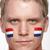 banderą · Niderlandy · słup · wiatr · biały - zdjęcia stock © monkey_business