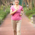 senior chinese woman jogging in park stock photo © monkey_business