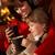 女性 · リラックス · 火災 · カップ · ホットチョコレート - ストックフォト © monkey_business
