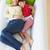 familie · ontspannen · sofa · meisje · liefde - stockfoto © monkey_business