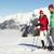 człowiek · narciarz · góry · starszy · stwarzające - zdjęcia stock © monkey_business