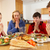 Teenage Family Saying Grace Before Eating Lunch Together In Kitc stock photo © monkey_business