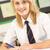 retrato · feminino · estudar · secretária · sala · de · aula · menina - foto stock © monkey_business