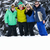 group of young friends on ski holiday in mountains stock photo © monkey_business