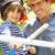pai · jogar · emocionante · aventura · jogo · crianças - foto stock © monkey_business