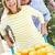 プッシング · 手押し車 · オレンジ · 女性 · 幸せ - ストックフォト © monkey_business