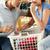 pár · szennyes · konyha · nő · nők · férfiak - stock fotó © monkey_business