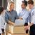 werknemers · distributie · magazijn · man · vrouwen · vergadering - stockfoto © monkey_business