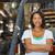 heftruck · distributie · magazijn · vrachtwagen · oranje · industrie - stockfoto © monkey_business