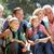 trois · génération · famille · pays · marche · femme - photo stock © monkey_business