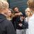 grup · gençler · asılı · dışarı · birlikte · dışında - stok fotoğraf © monkey_business