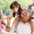 дедушка · и · бабушка · внучата · комбинированный · счастливым · весело · парка - Сток-фото © monkey_business