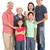 Full Length Studio Shot Of Multi-Generation Chinese Family stock photo © monkey_business