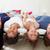 семьи · кровать · пижама · вместе · девушки - Сток-фото © monkey_business