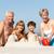 abuelos · nietos · mujer · playa - foto stock © monkey_business