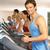 Man On Running Machine In Gym stock photo © monkey_business