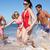 group of friends enjoying beach holiday stock photo © monkey_business