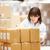 femenino · trabajador · distribución · almacén · mujer · mujeres - foto stock © monkey_business