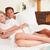 casal · relaxante · quarto · de · hotel · hotel · retrato - foto stock © monkey_business