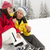 Middle Aged Couple Eating Sandwich On Ski Holiday In Mountains stock photo © monkey_business