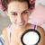 guardando · specchio · bella · ritratto · offuscata - foto d'archivio © monkey_business