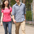 young chinese couple walking in park stock photo © monkey_business