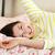 mooie · vrouw · ontspannen · bed · vrouw · vrouwen · gelukkig - stockfoto © monkey_business