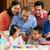 multi generation family celebrating childrens birthday stock photo © monkey_business