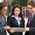üzletember · üzletasszony · digitális · tabletta · kívül · üzlet - stock fotó © monkey_business