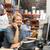 zakenvrouw · werken · bureau · magazijn · computer · vrouwen - stockfoto © monkey_business