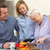 старший · женщину · взрослый · сын · семьи · счастливым - Сток-фото © monkey_business
