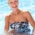 aktív · idős · nő · úszik · boldog · 60-as · évek - stock fotó © monkey_business