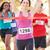 女性 · ランナー · 受賞 · マラソン · 女性 · 幸せ - ストックフォト © monkey_business