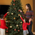 mother and children decorating christmas tree stock photo © monkey_business